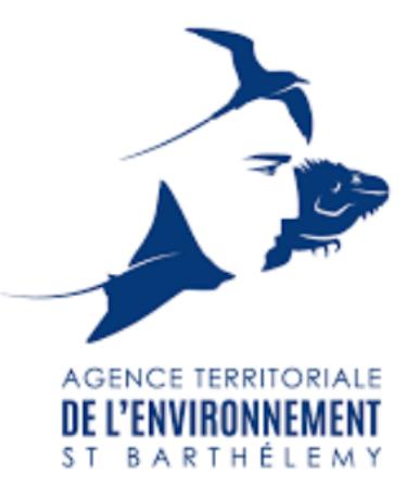 Logo de agence territoriale de l'environnement saint barthélémy