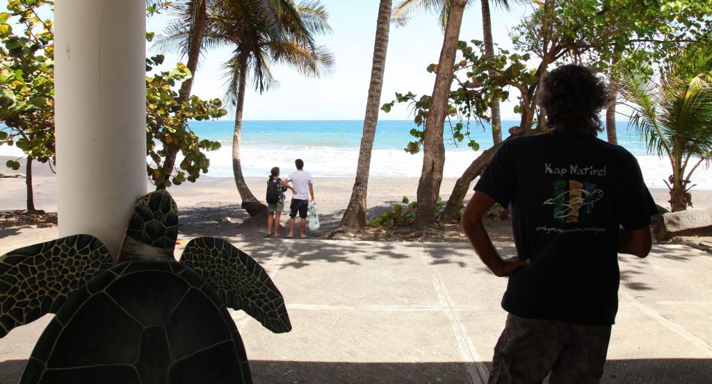 Local plage de Grande Anse