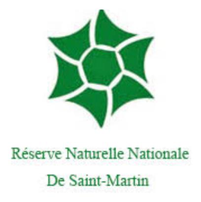 Logo de réserve saint martin