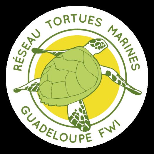 Logo réseau tortues marines guadeloupe FWI