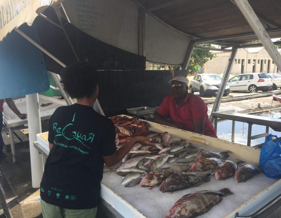 Stand de poisson